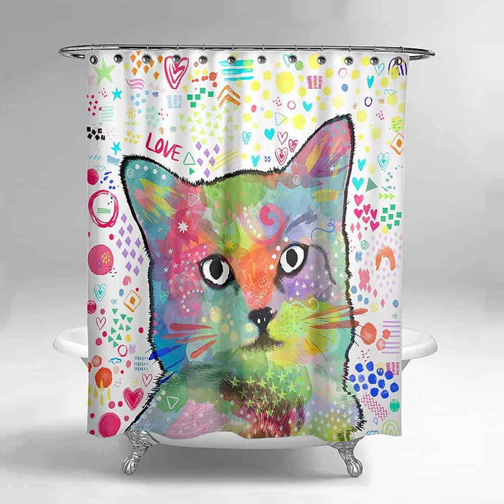 82 Cool Funny Shower Curtains For An Unique Bathroom 2020