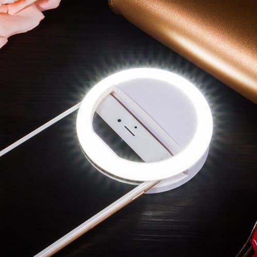 LED Clip-on selfie light