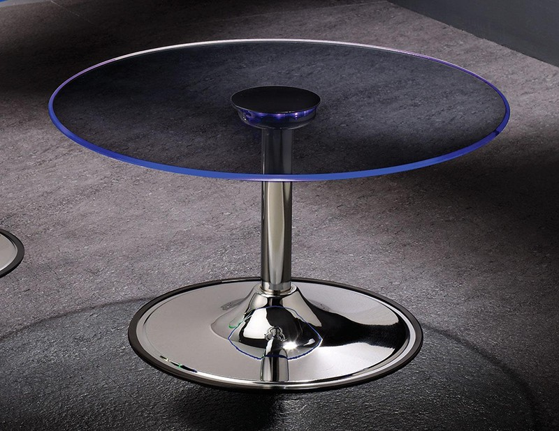 LED funky coffee table