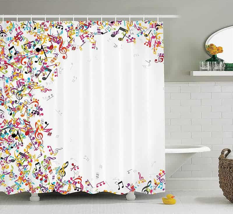 Music Décor Shower Curtain