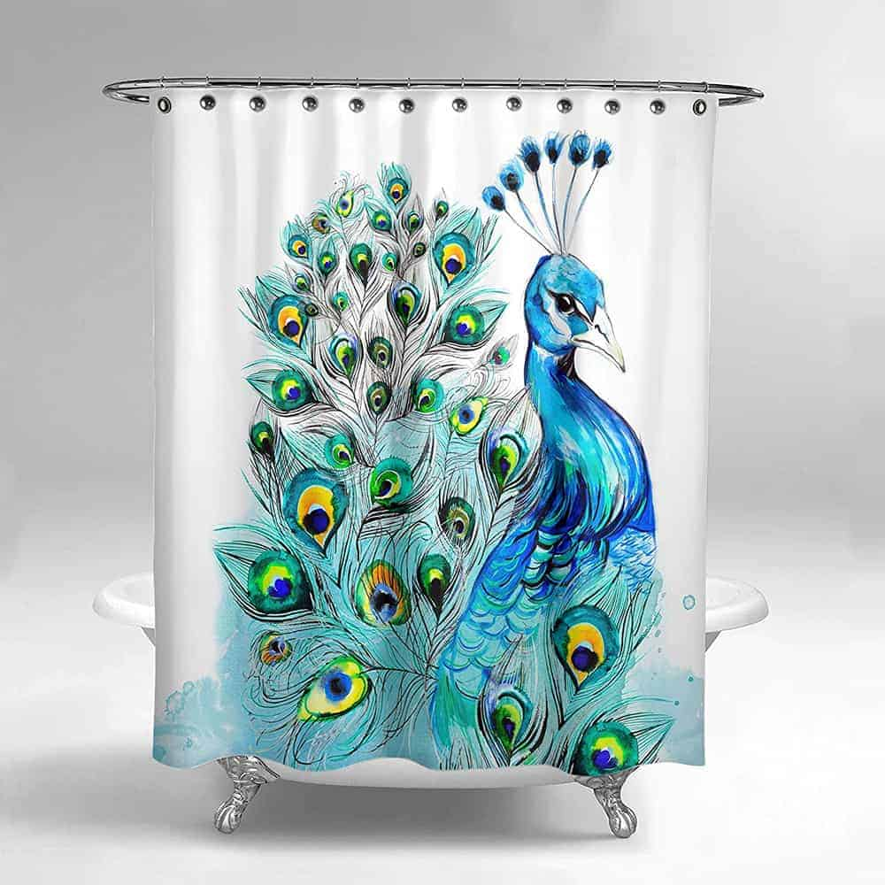 82 Cool Funny Shower Curtains For An Unique Bathroom