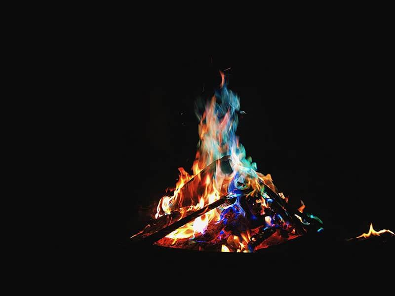 Rainbow Flames
