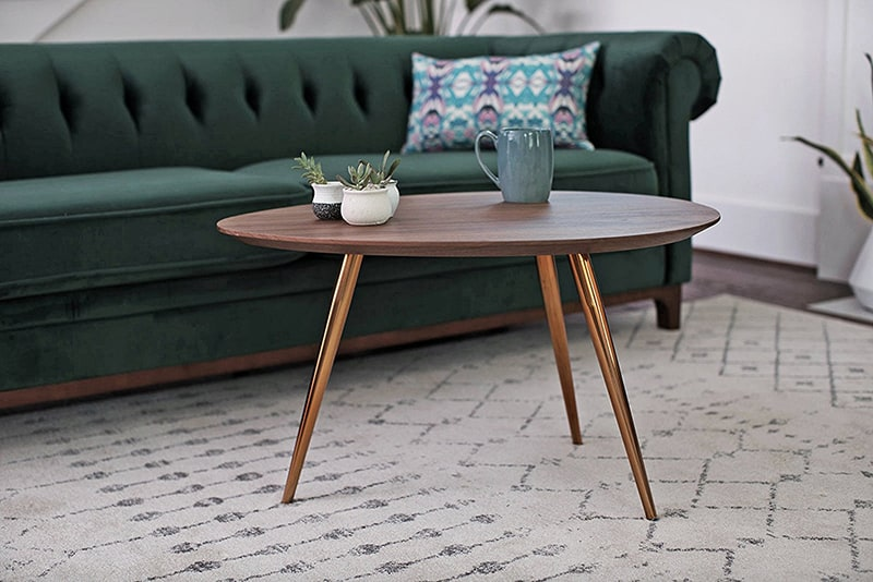 Small mid-century coffee table