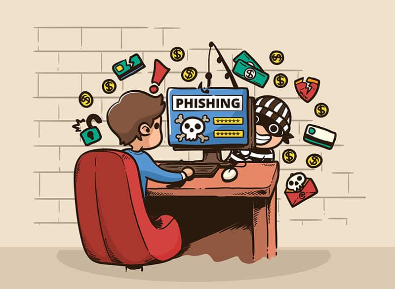 avoid phishing to stay safe while shopping online