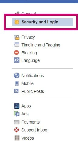 how to set up 2 factor authenitcation on facebook ss2