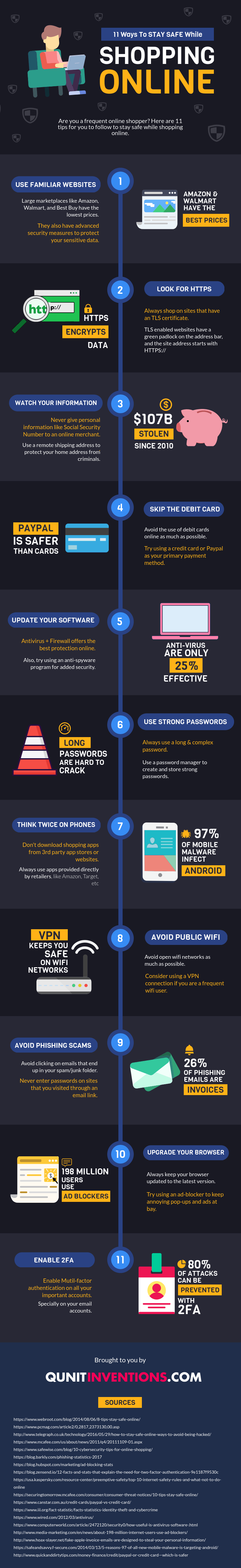 stay safe online shopping guide