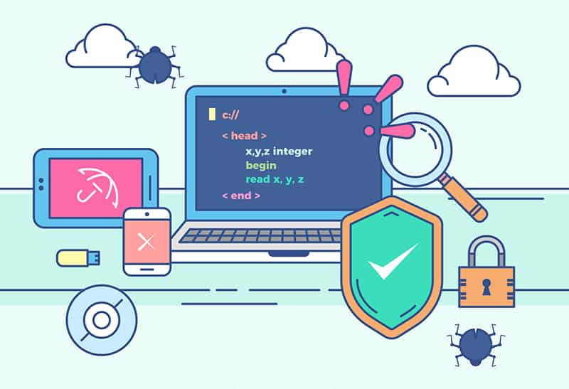 use antivirus to protect your computer