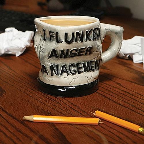 Anger Management Mug -fancy coffee mugs