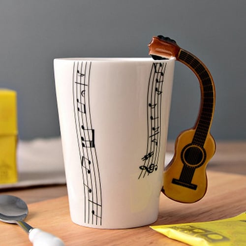 Cool guitar mug - creative coffee mugs