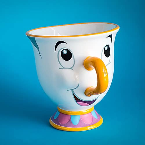 Disney Beauty and the beast chip mug