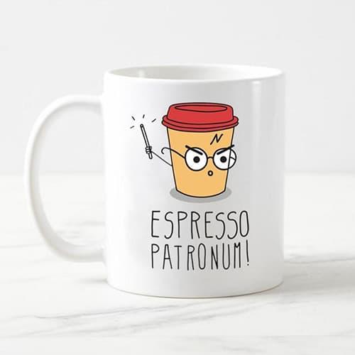 Espresso Patronum Harry Potter Mug