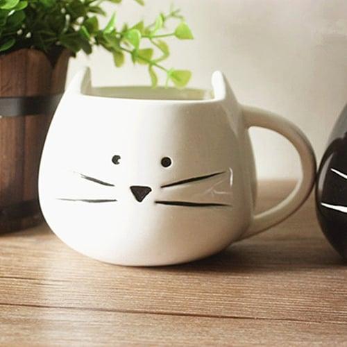 Little White Cat Mug