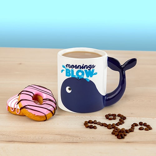 Mornings Blow Coffee Mug