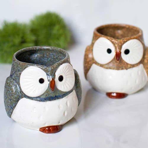 Owl Ceramic Mug