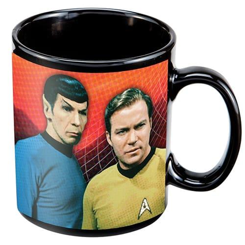 Star Trek warp speed mug
