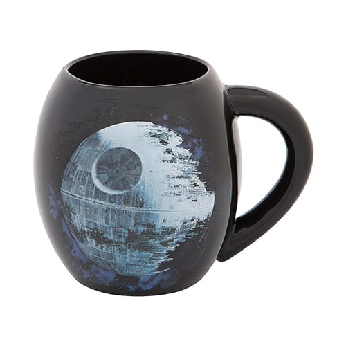 Star Wars death star mug
