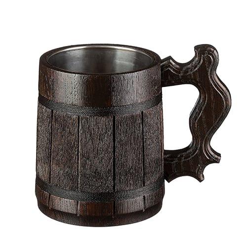 Tankard wooden mug