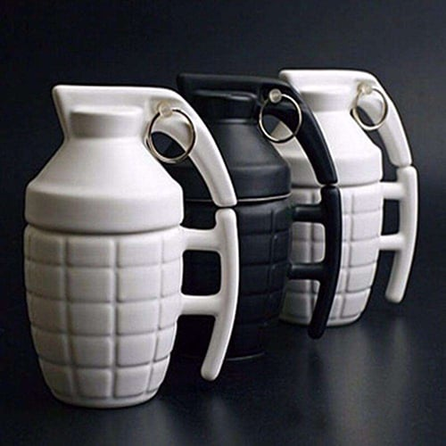 The grenade mug