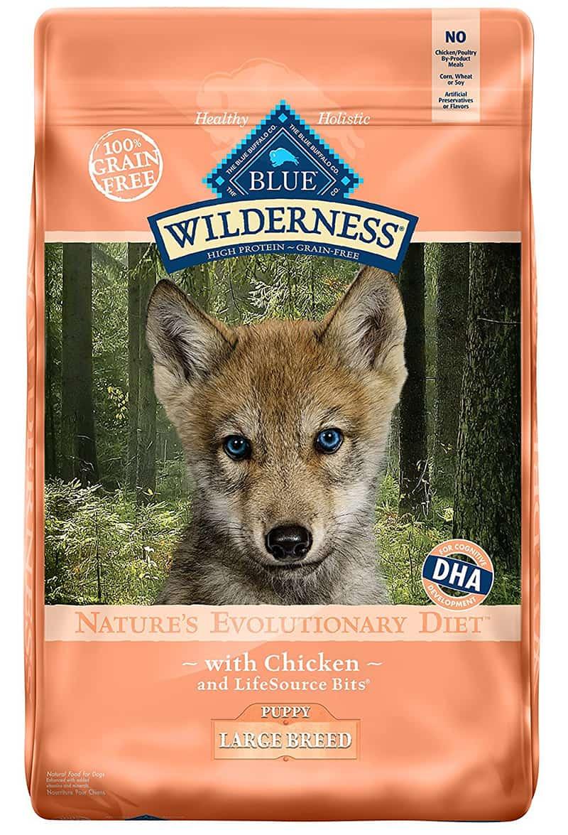 Best German shepherd puppy food - BLUE wilderness