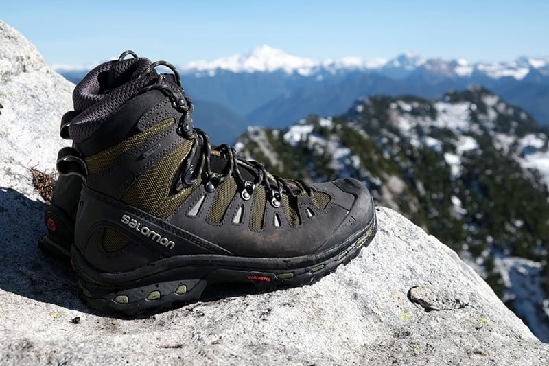 Best survival boot - Salomon quest 4D 2 GTX hiking boot