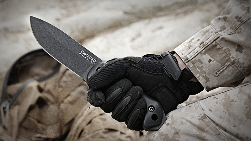 Best survival knife - Ka Bar Becker BK2 blade knife