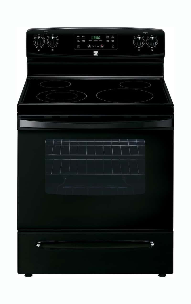 Kenmore 94179 black electric oven