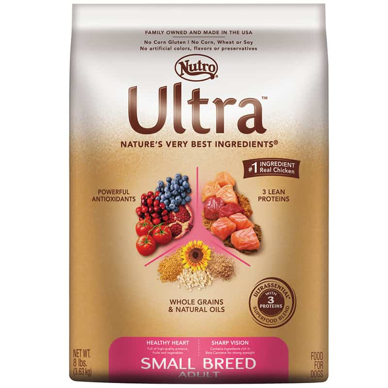 Nutro ultra small breed adult dry dog food - Best food for dachshunds