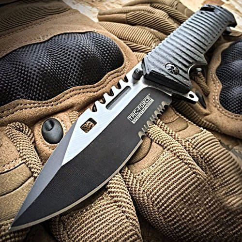 TAC Force tactical rescue pocket knife