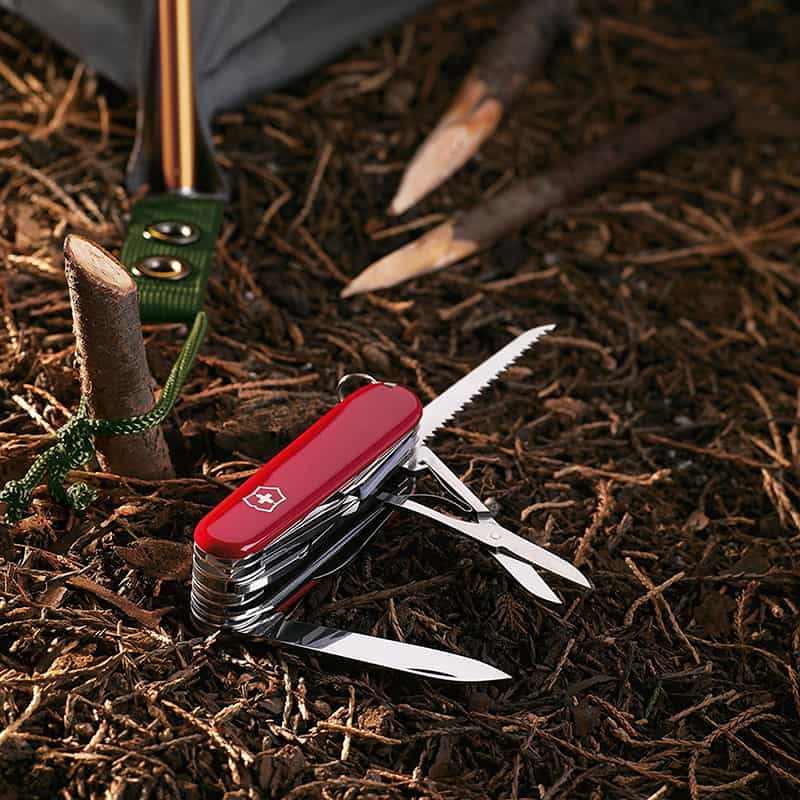 best survival Multi-Tool - Victorinox Swiss Army Swisschamp