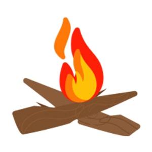 Flintstone Fire Starter