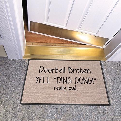 Broken Doorbell, Yell Ding Dong