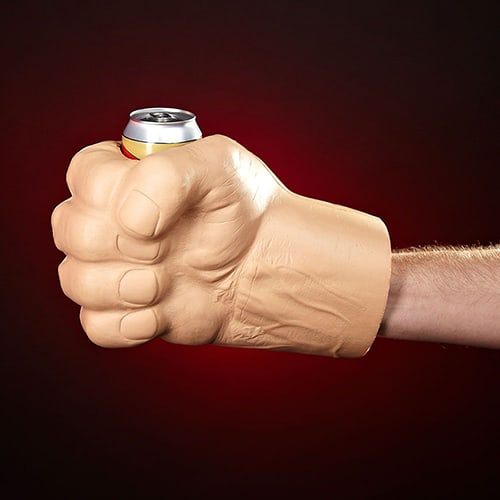 Giant Fist Can Holder