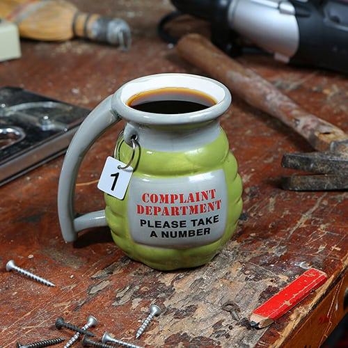 """Grenade """"Take a Number"""" Mug"""