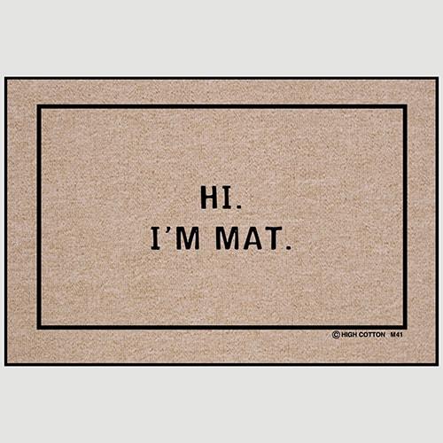 Hi, I'm Mat