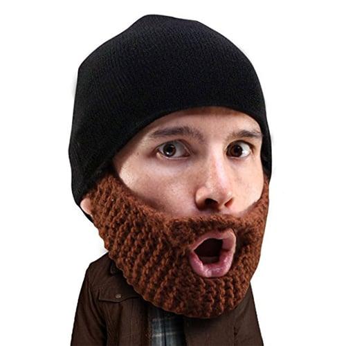 Knit Beard Beanie