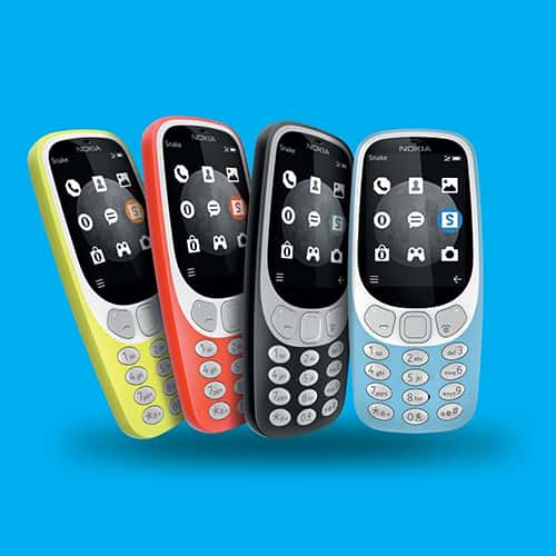 Nokia 3310 Classic Style Cell Phone