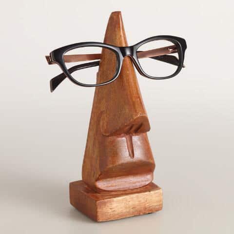 Nose-shaped Eyewear Holder - Weird Amazon Products