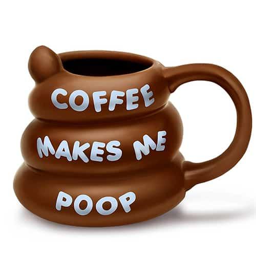 Poo-shaped Coffee Mug