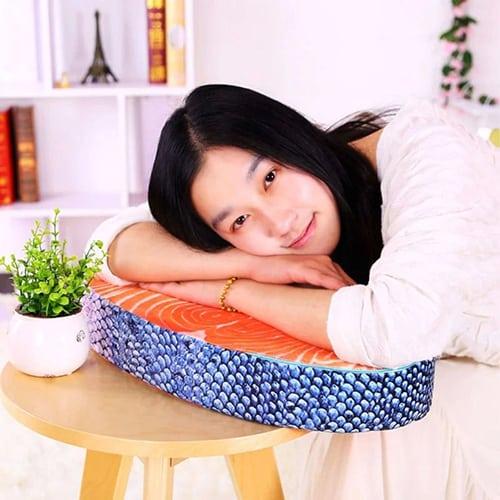 Salmon Fish Pillow