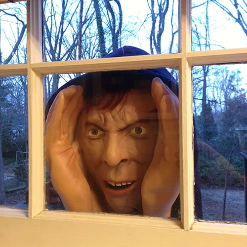 Scary Peeper Halloween Decoration