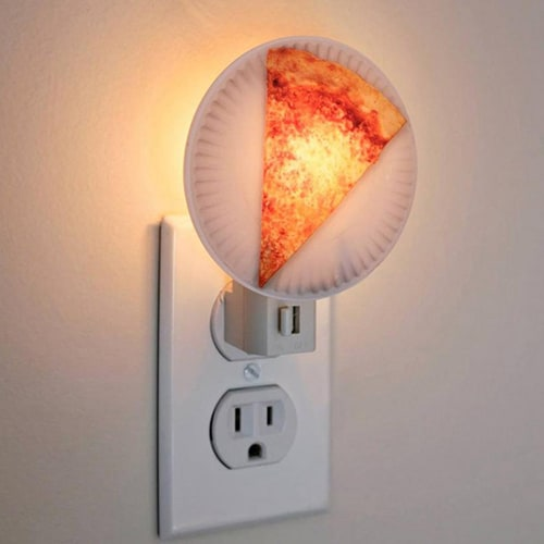 Slice of Pizza Night Light