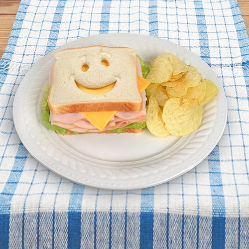 Smiley Face Sandwich Cutter