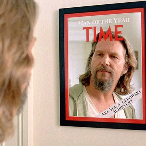 Time Magazine Cover Mirror