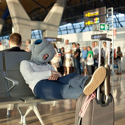 Travel Pillow for Airplanes - Funny Birthday Gifts for Sister