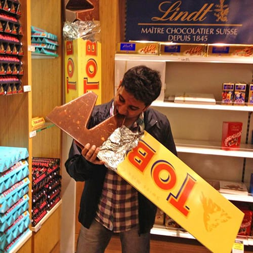 10 Pound Toblerone - Best Gifts for Men Who Have Everything