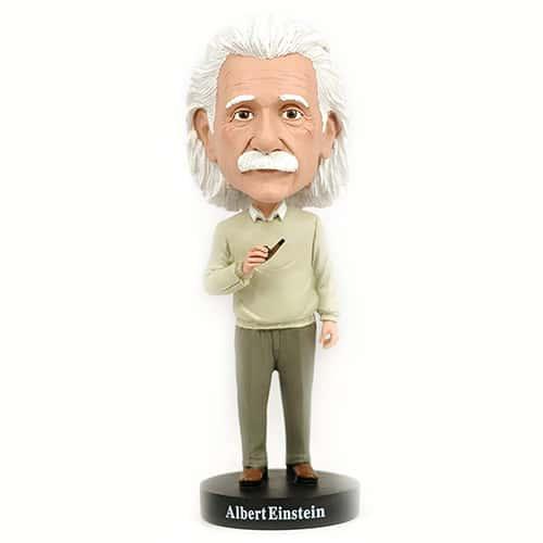 Albert Einstein Bobblehead - Cool Bedroom Accessories for Guys