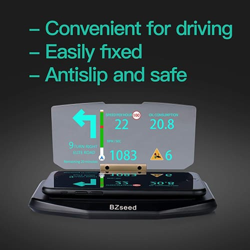 BZseed Head Up Display – Cool Car Interior Accessories for Guys