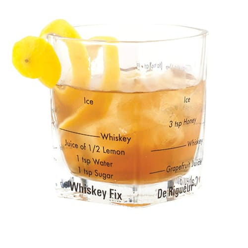 Bartending Glasses With Recipes
