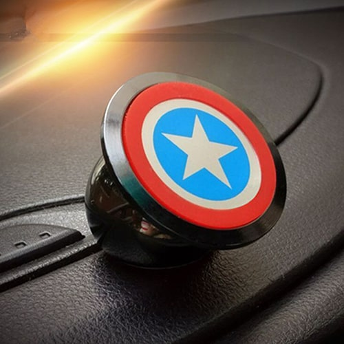 Captain America Magnetic Car Mount
