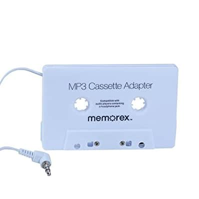 Cassette to 3.5mm AUX Adapter